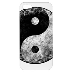 Grunge Yin Yang Apple Iphone 5 Hardshell Case