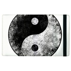 Grunge Yin Yang Apple Ipad 2 Flip Case