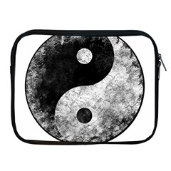 Grunge Yin Yang Apple Ipad 2/3/4 Zipper Cases