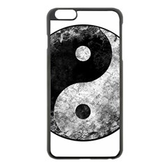 Grunge Yin Yang Apple Iphone 6 Plus/6s Plus Black Enamel Case