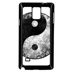 Grunge Yin Yang Samsung Galaxy Note 4 Case (black)