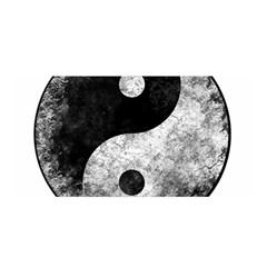 Grunge Yin Yang Satin Wrap
