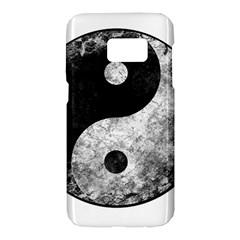 Grunge Yin Yang Samsung Galaxy S7 Hardshell Case