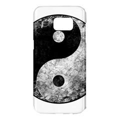 Grunge Yin Yang Samsung Galaxy S7 Edge Hardshell Case