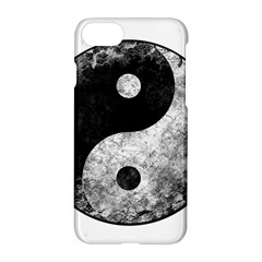 Grunge Yin Yang Apple Iphone 7 Hardshell Case