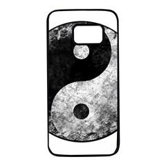 Grunge Yin Yang Samsung Galaxy S7 Black Seamless Case
