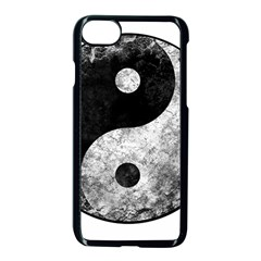 Grunge Yin Yang Apple Iphone 7 Seamless Case (black)