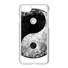 Grunge Yin Yang Apple Iphone 7 Seamless Case (white)