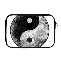 Grunge Yin Yang Apple Macbook Pro 17  Zipper Case