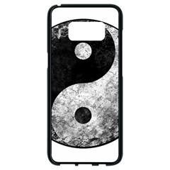 Grunge Yin Yang Samsung Galaxy S8 Black Seamless Case