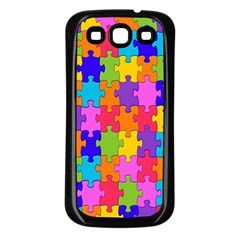 Colorful 10 Samsung Galaxy S3 Back Case (black)