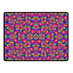 Colorful 11 Double Sided Fleece Blanket (small)