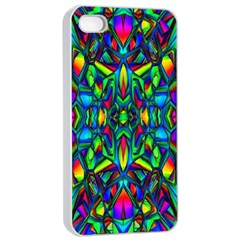 Colorful 13 Apple Iphone 4/4s Seamless Case (white)