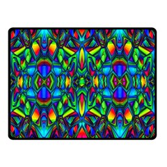 Colorful 13 Double Sided Fleece Blanket (small)