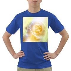 Beautiful Yellow Rose Dark T Shirt