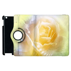Beautiful Yellow Rose Apple Ipad 3/4 Flip 360 Case