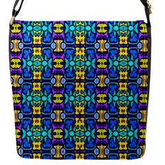 Colorful 14 Flap Messenger Bag (s)