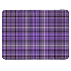 Purple  Plaid Samsung Galaxy Tab 7  P1000 Flip Case