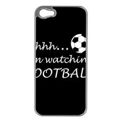 Football Fan  Apple Iphone 5 Case (silver)