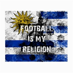 Football Is My Religion Small Glasses Cloth