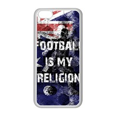 Football Is My Religion Apple Iphone 5c Seamless Case (white)