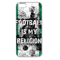 Football Is My Religion Apple Seamless Iphone 5 Case (clear)