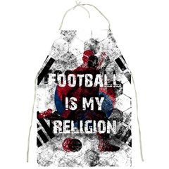 Football Is My Religion Full Print Aprons