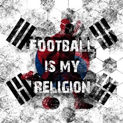 Football Is My Religion Magic Photo Cubes