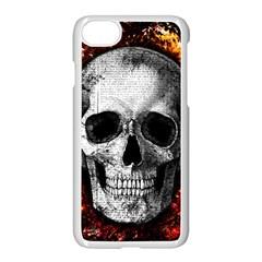 Skull Apple Iphone 8 Seamless Case (white)