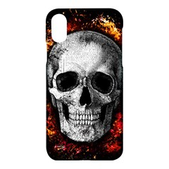 Skull Apple Iphone X Hardshell Case