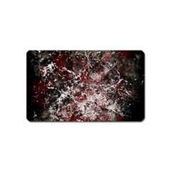 Grunge Pattern Magnet (name Card)