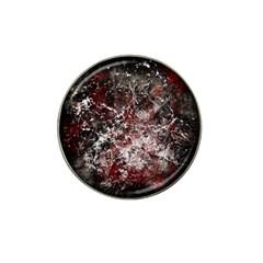 Grunge Pattern Hat Clip Ball Marker