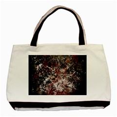 Grunge Pattern Basic Tote Bag
