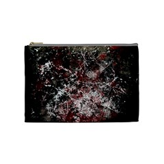 Grunge Pattern Cosmetic Bag (medium)