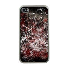 Grunge Pattern Apple Iphone 4 Case (clear)