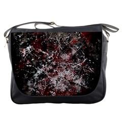 Grunge Pattern Messenger Bags