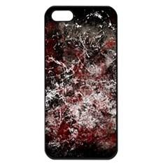 Grunge Pattern Apple Iphone 5 Seamless Case (black)