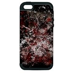 Grunge Pattern Apple Iphone 5 Hardshell Case (pc+silicone)