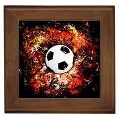Football  Framed Tiles