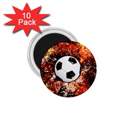 Football  1 75  Magnets (10 Pack)