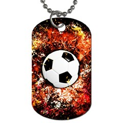 Football  Dog Tag (two Sides)