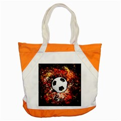 Football  Accent Tote Bag