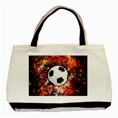 Football  Basic Tote Bag (two Sides)