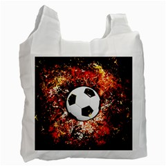 Football  Recycle Bag (two Side)