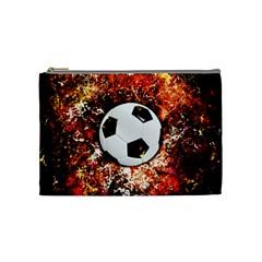 Football  Cosmetic Bag (medium)