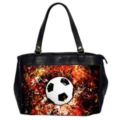 Football  Office Handbags (2 Sides)