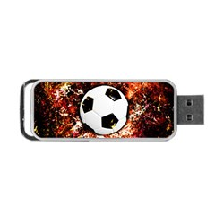 Football  Portable Usb Flash (two Sides)