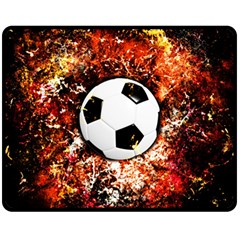 Football  Double Sided Fleece Blanket (medium)