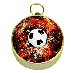 Football  Gold Compasses