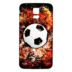 Football  Samsung Galaxy S5 Back Case (white)